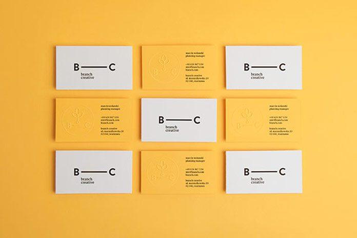 20款创意名片设计欣赏
