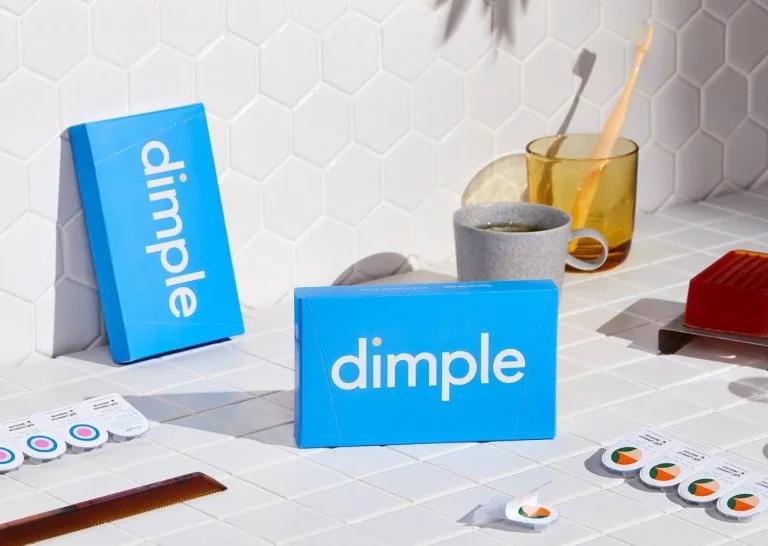 Dimple隐形眼镜品牌形象设计 石家庄广告设计
