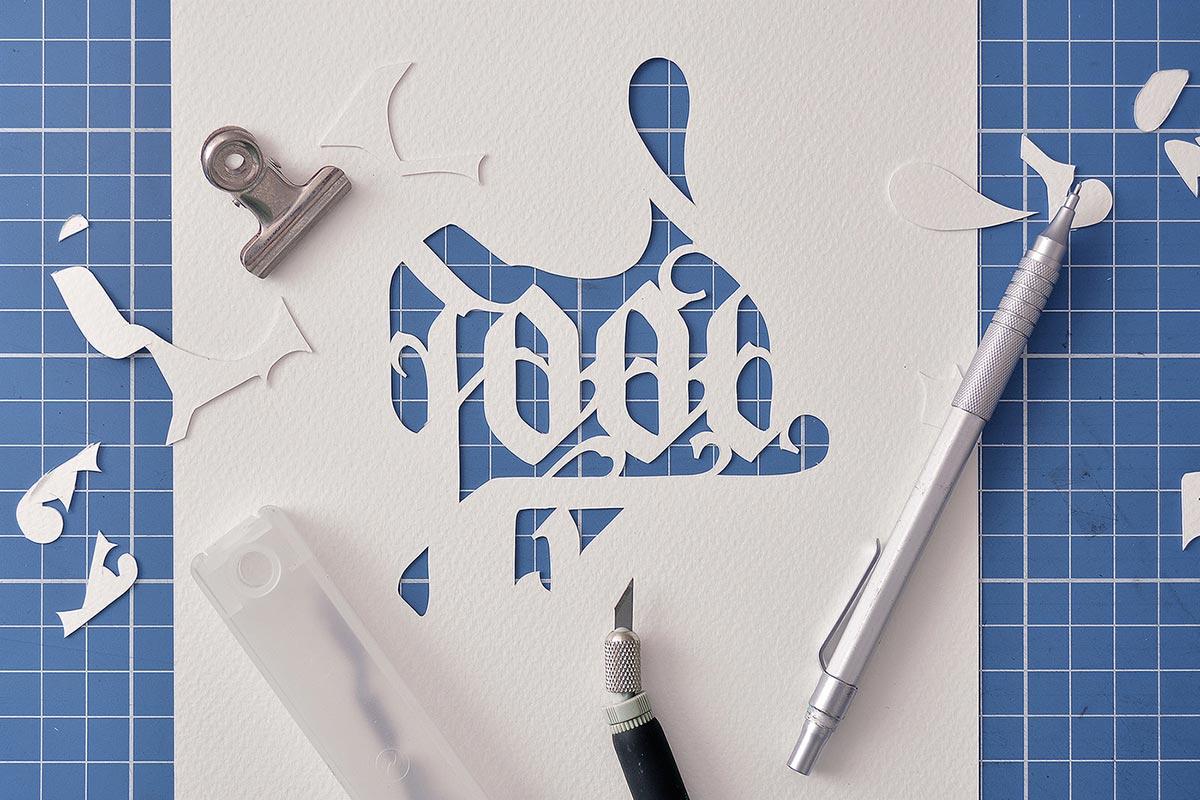 John Ed创意纸艺插画设计