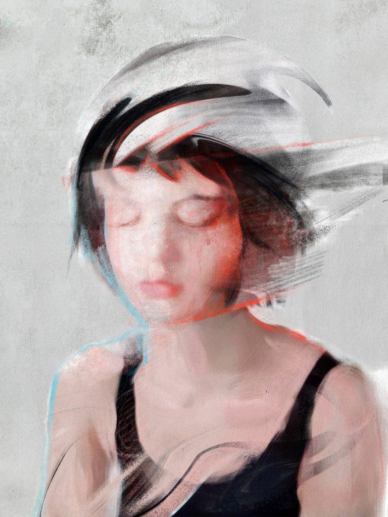 Dario Moschetta肖像绘画艺术
