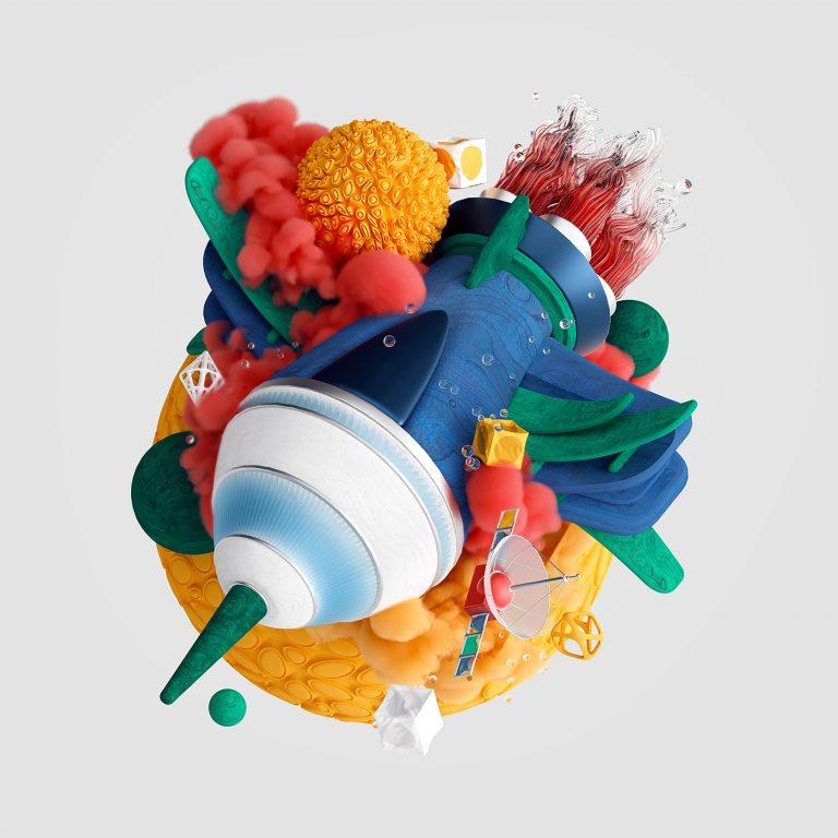 Mateusz Król 3D插画艺术作品