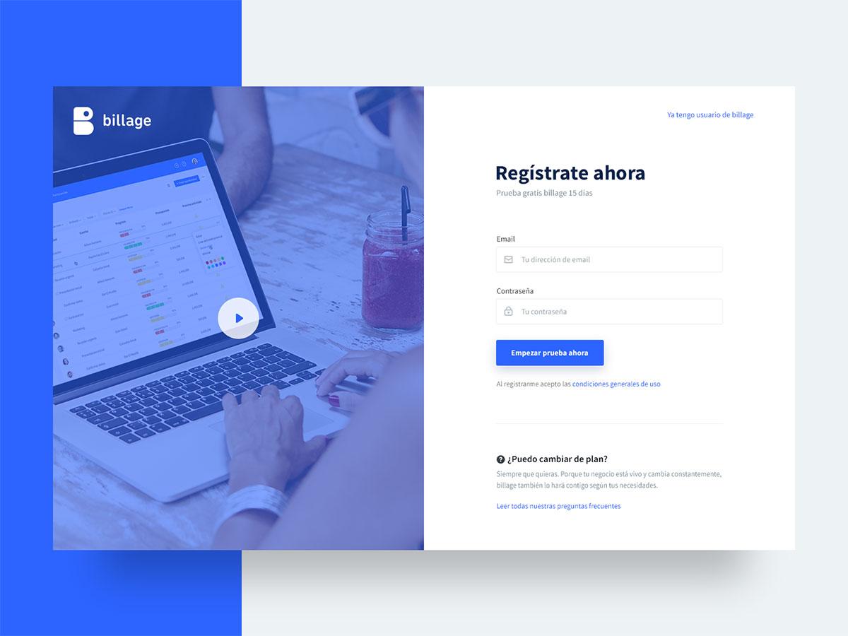 9款pc端注册登录页设计