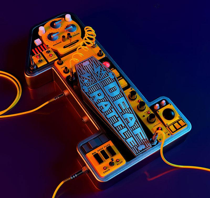 超酷的动感创意3D字体设计