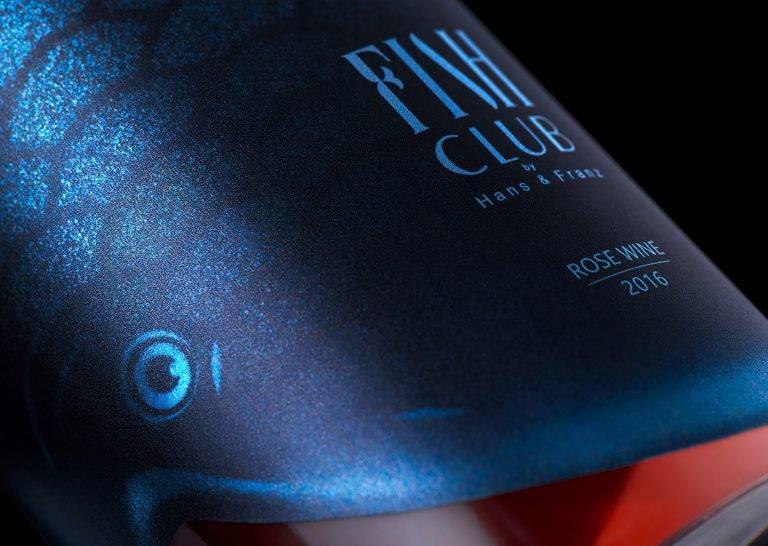 Fish Club独特的鱼形红酒包装