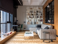莫斯科工业特色的52平米小公寓设计