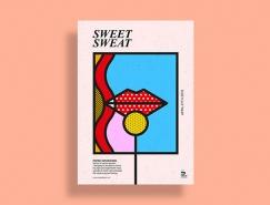 20個波普藝術風格設計作品欣賞