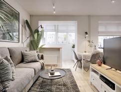 风格简约时尚 超级紧凑的40平米小公寓