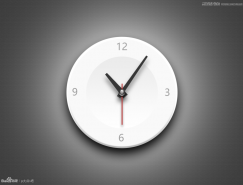 Photoshop绘制立体时尚的钟表效果图