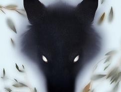Jenna Barton神秘风格的动物插画