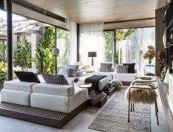 巴西热带丛林风格的开放式住宅设计