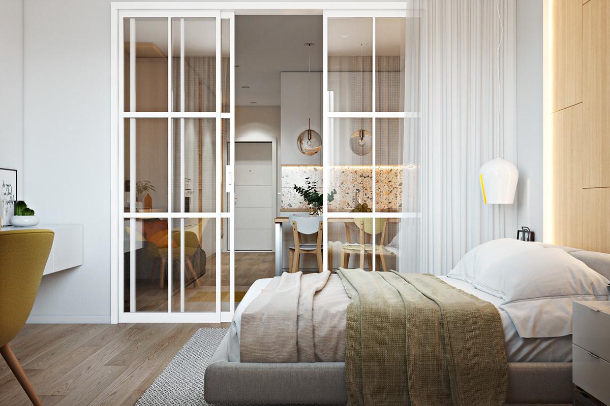纯净极简的完美小户型公寓