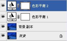PS色彩平衡工具修复偏蓝风景照片色彩