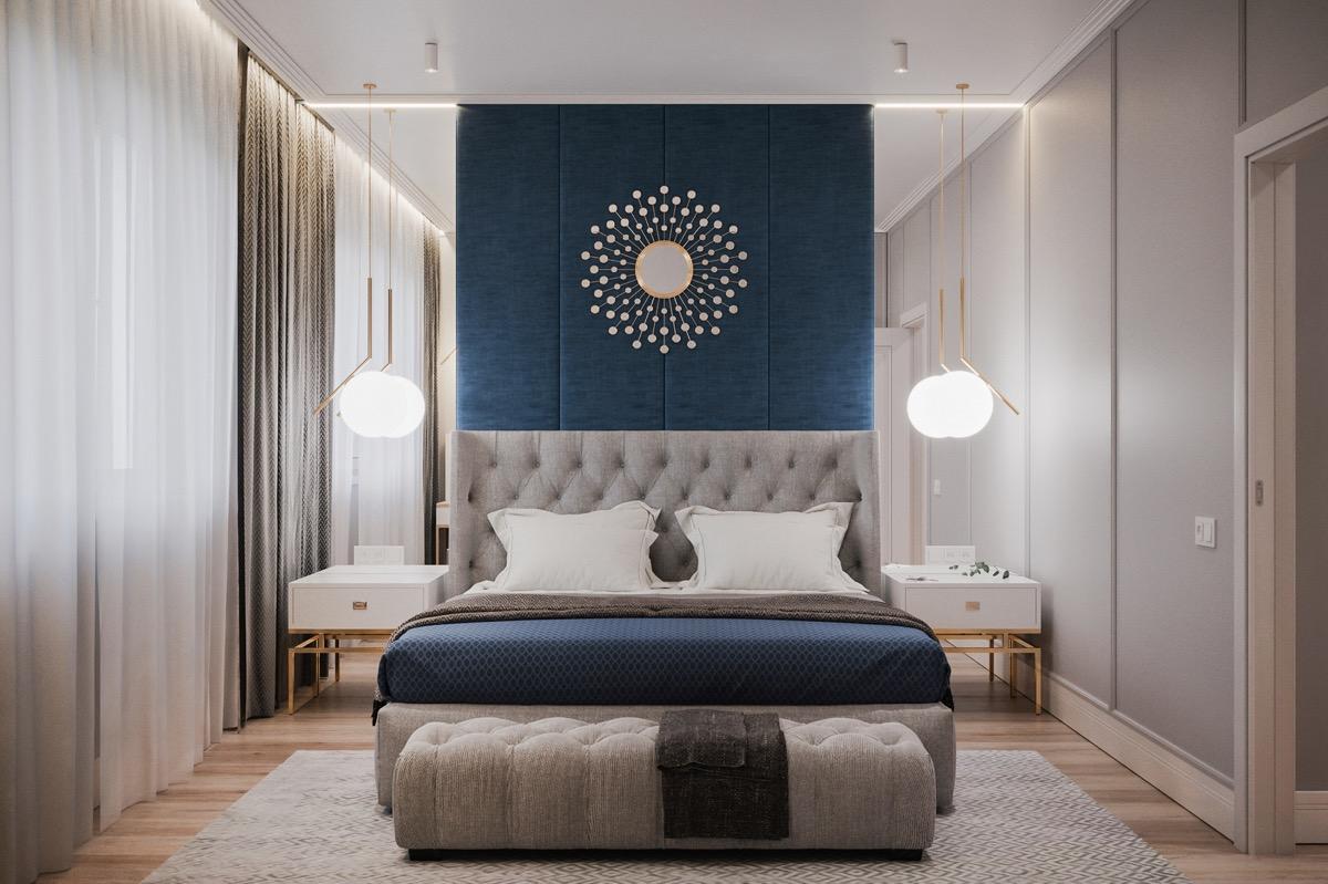 桥接现代和传统:40个过渡风格卧室设计