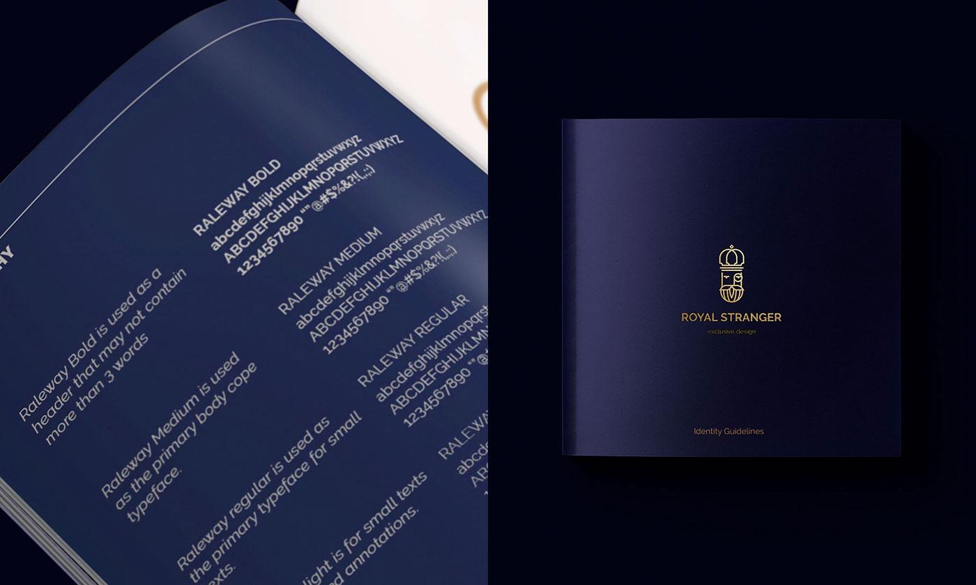 家具设计品牌Royal Stranger高雅的视觉形象设计