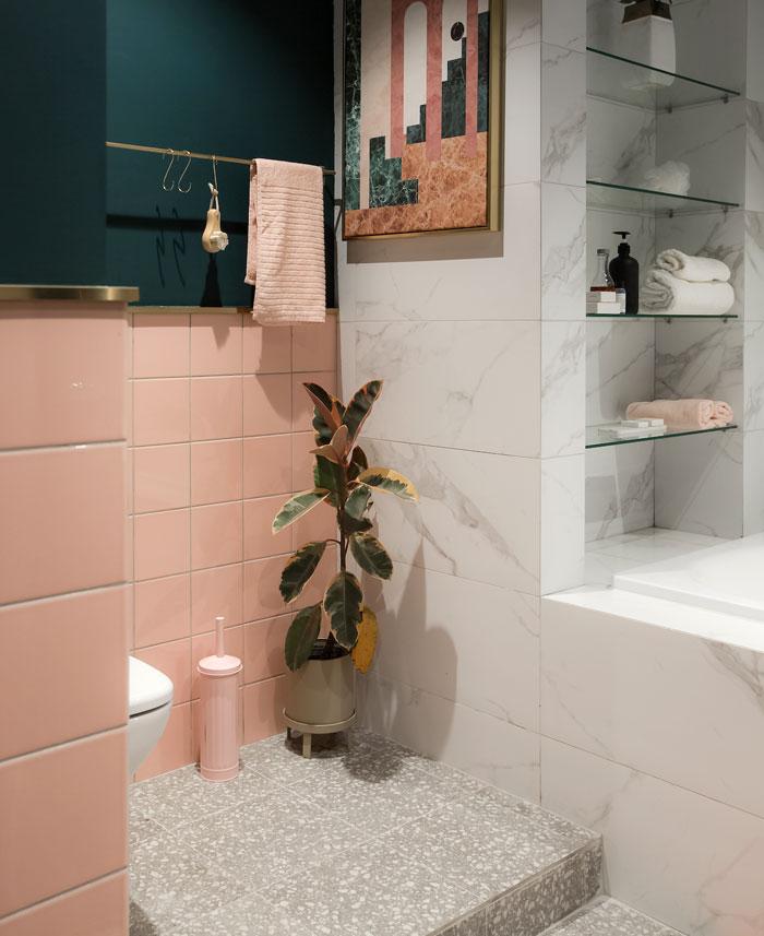 灵感的色彩:56平米充满艺术感的家
