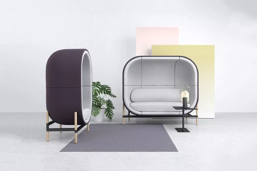 舒适独特的胶囊沙发设计