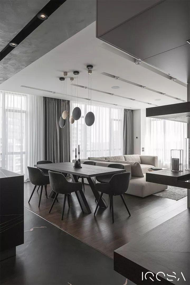精致时尚,轻奢质感的大平层豪宅