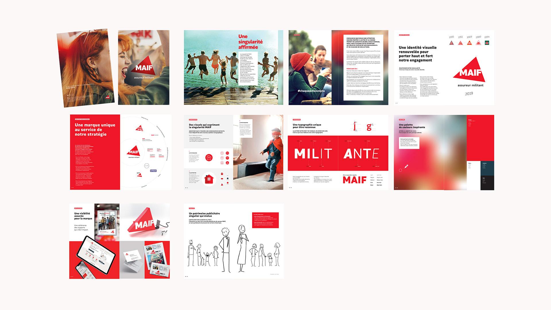 法国保险公司MAIF发布新品牌形象