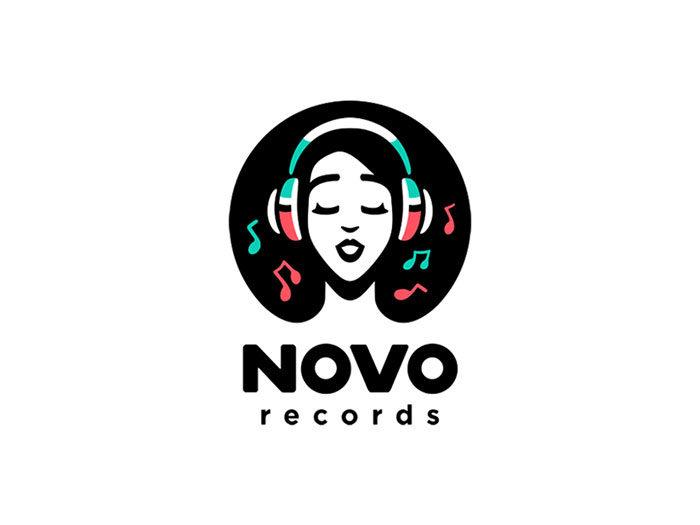 30款音乐题材logo设计
