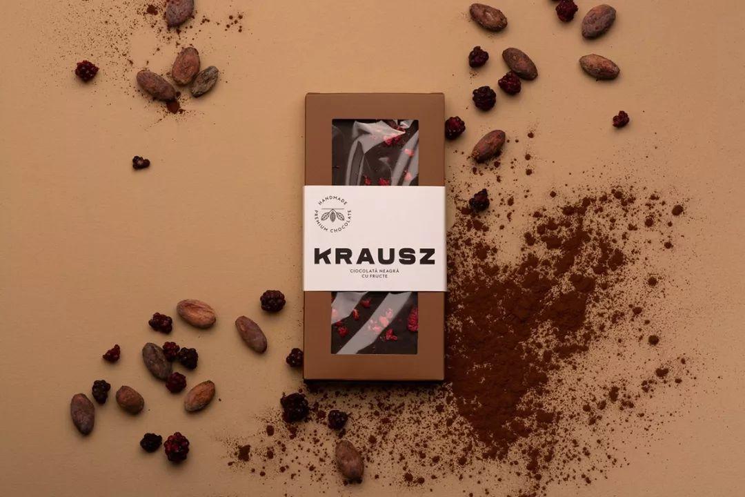 Krausz巧克力包装设计
