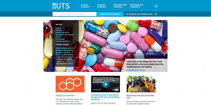 51个国外学校网站设计欣赏