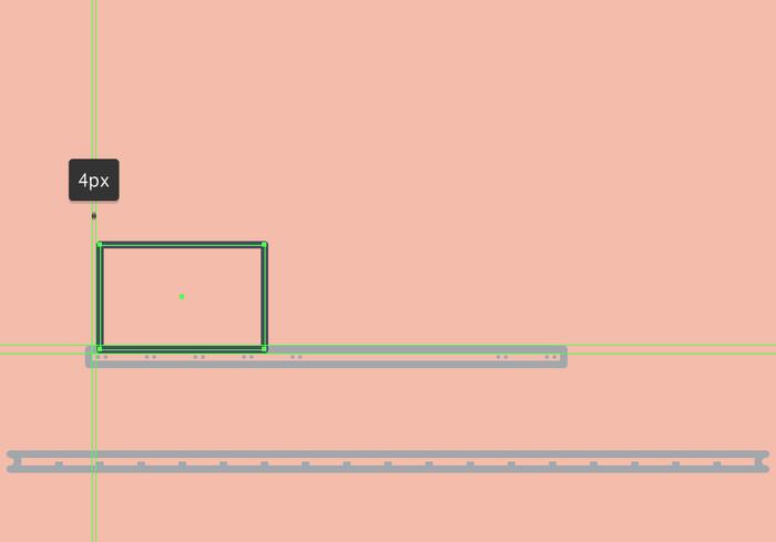 Illustrator绘制复古蒸汽火车插画