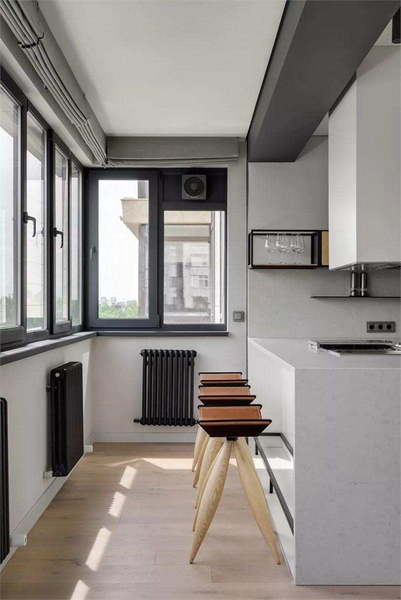 富有生活感的空间 阿拉木图公寓设计