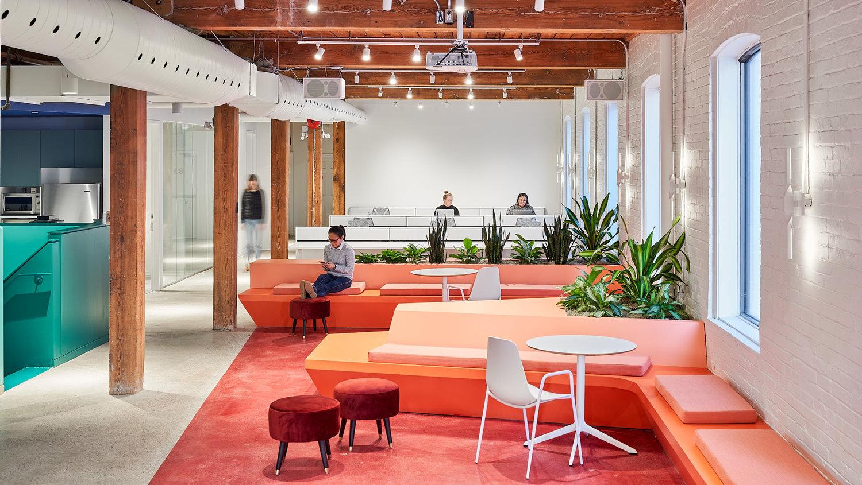 多伦多初创企业Lift & Co总部办公空间