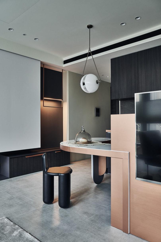 精致简约的美感:台北Flowing Vector公寓