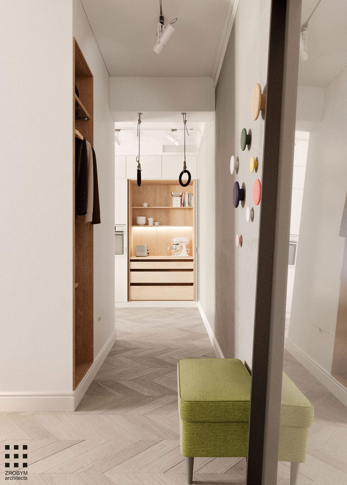 极简风格的高级灰:65平开放式设计的小公寓