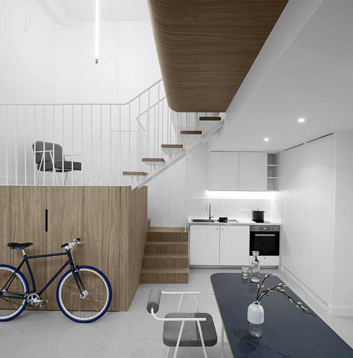两位设计师不同的理念 巴黎小公寓改造设计