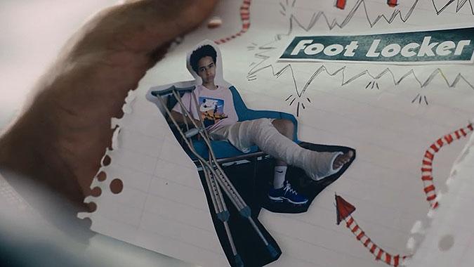 头号粉丝来信: Footlocker耐克篮球鞋广告