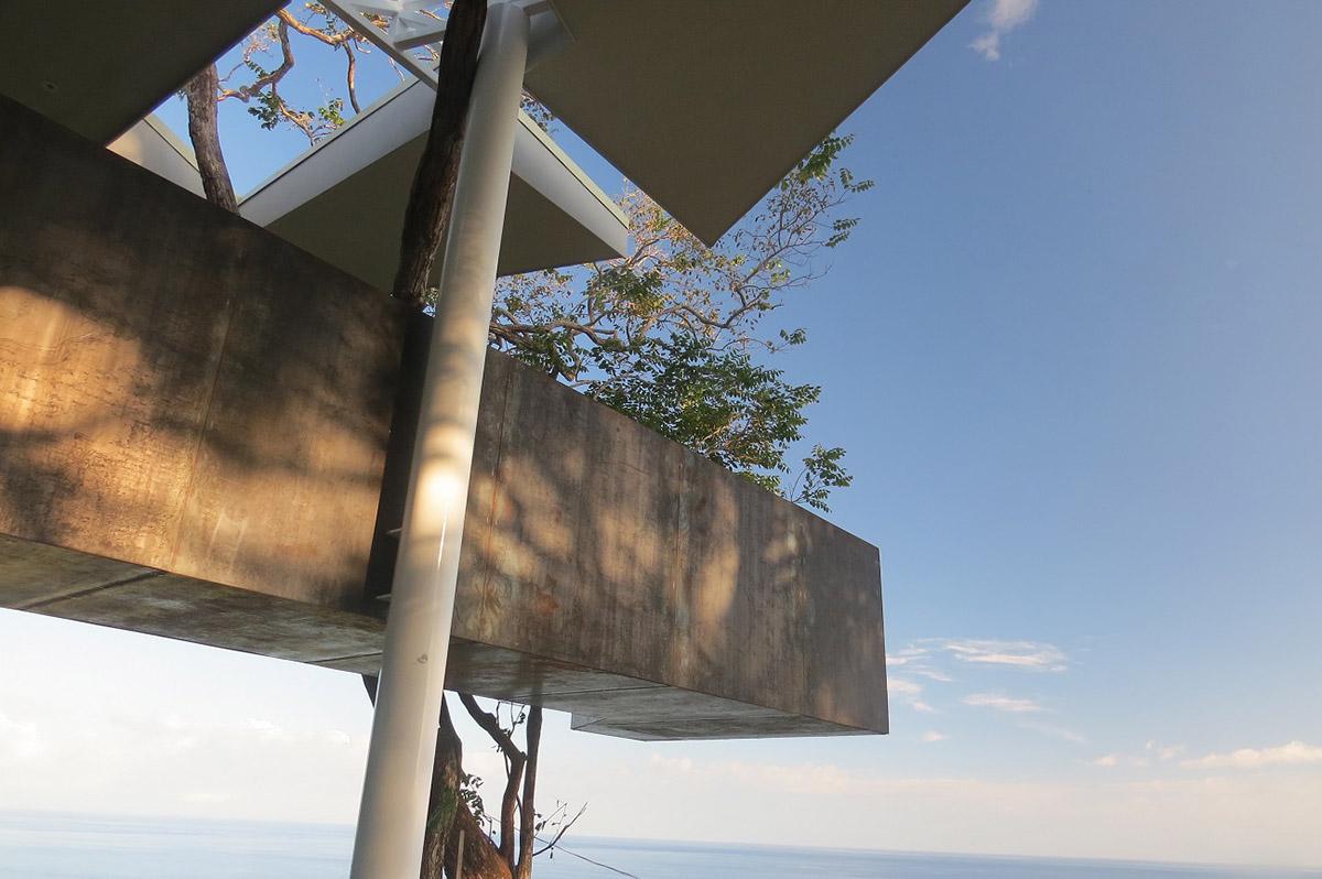 哥斯达黎加悬崖边的Cocobolo别墅