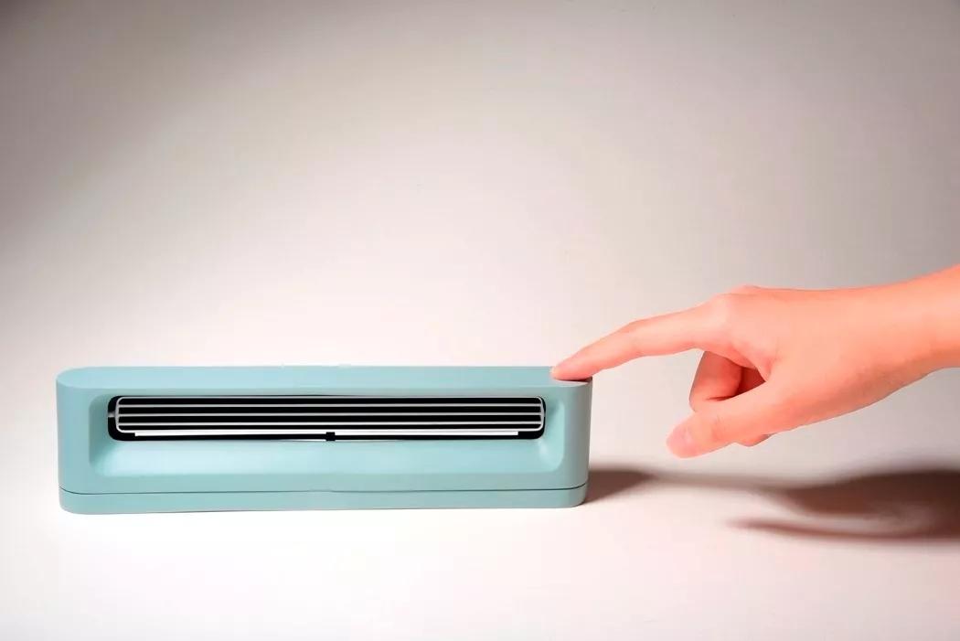 极简风格的Breez台式暖手器