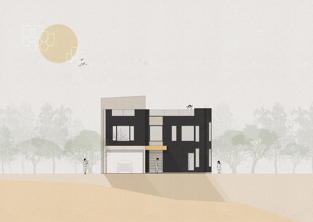 简约的奢华优雅,融入现代东方元素的时尚别墅设计