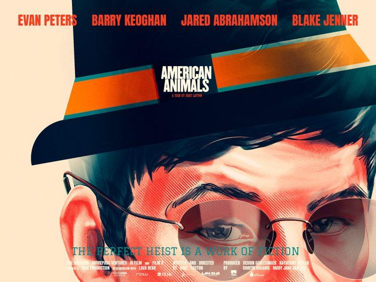 American Animals电影海报插画皇冠新2网