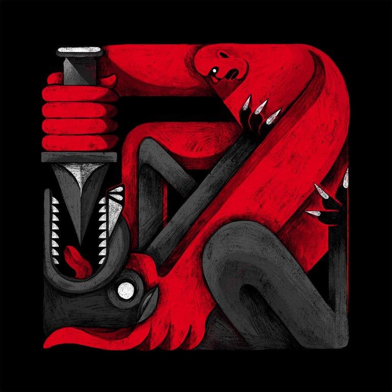 红色,黑色和白色:Oleg Smirnov插画欣赏