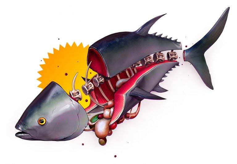 Pedro Lambuja怪诞独特的插画创作