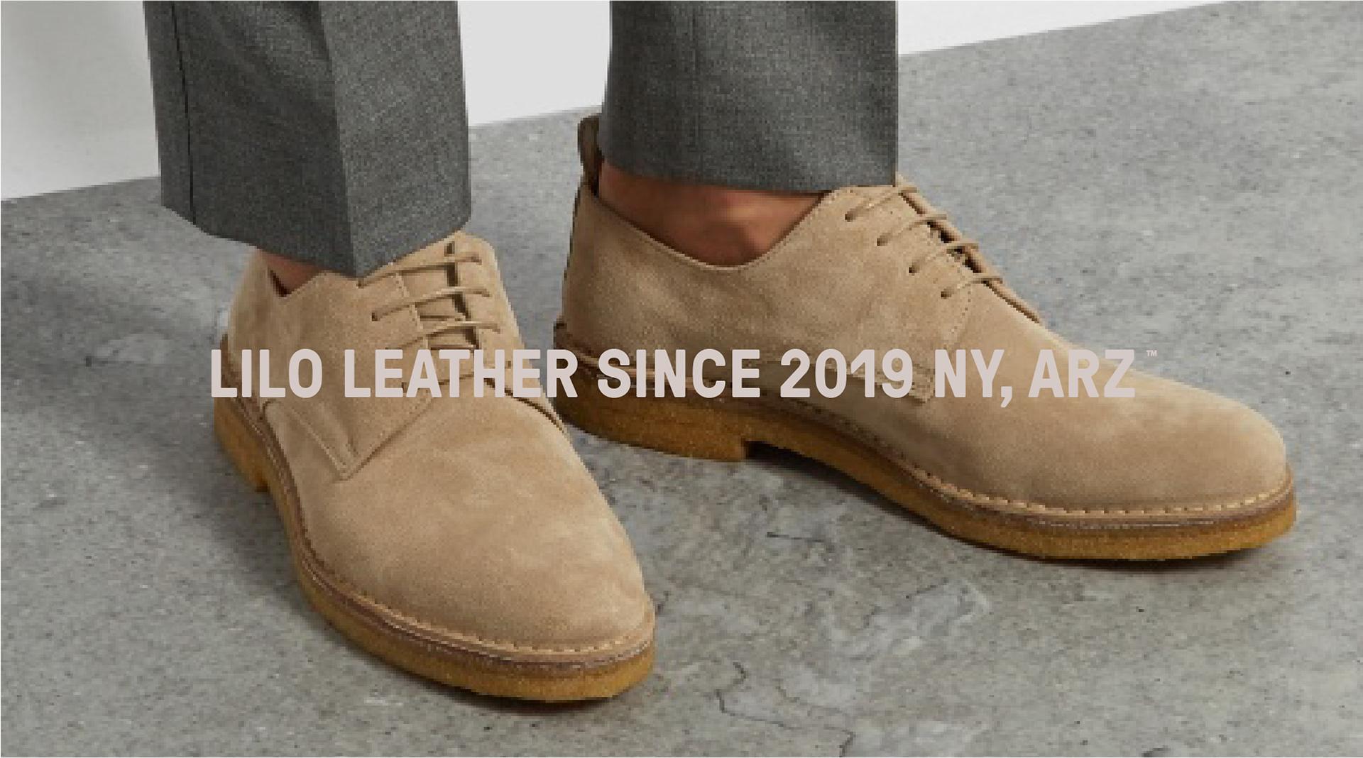 100%再生皮革制造的男鞋品牌Lilo™视觉设计欣赏