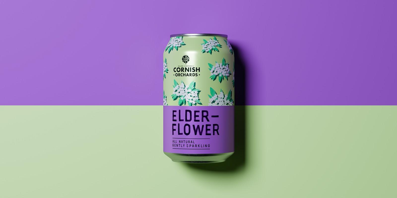 Cornish Orchards果汁包装设计