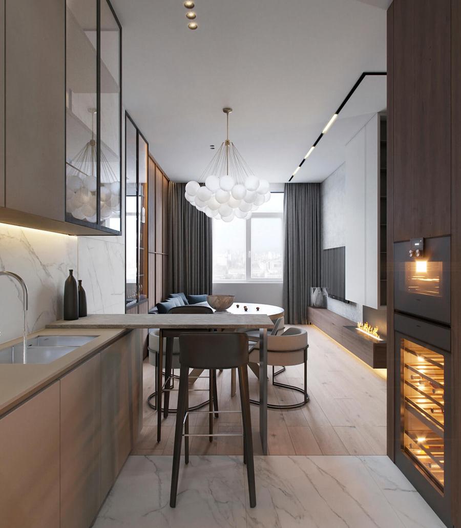 优雅舒适的城市小公寓