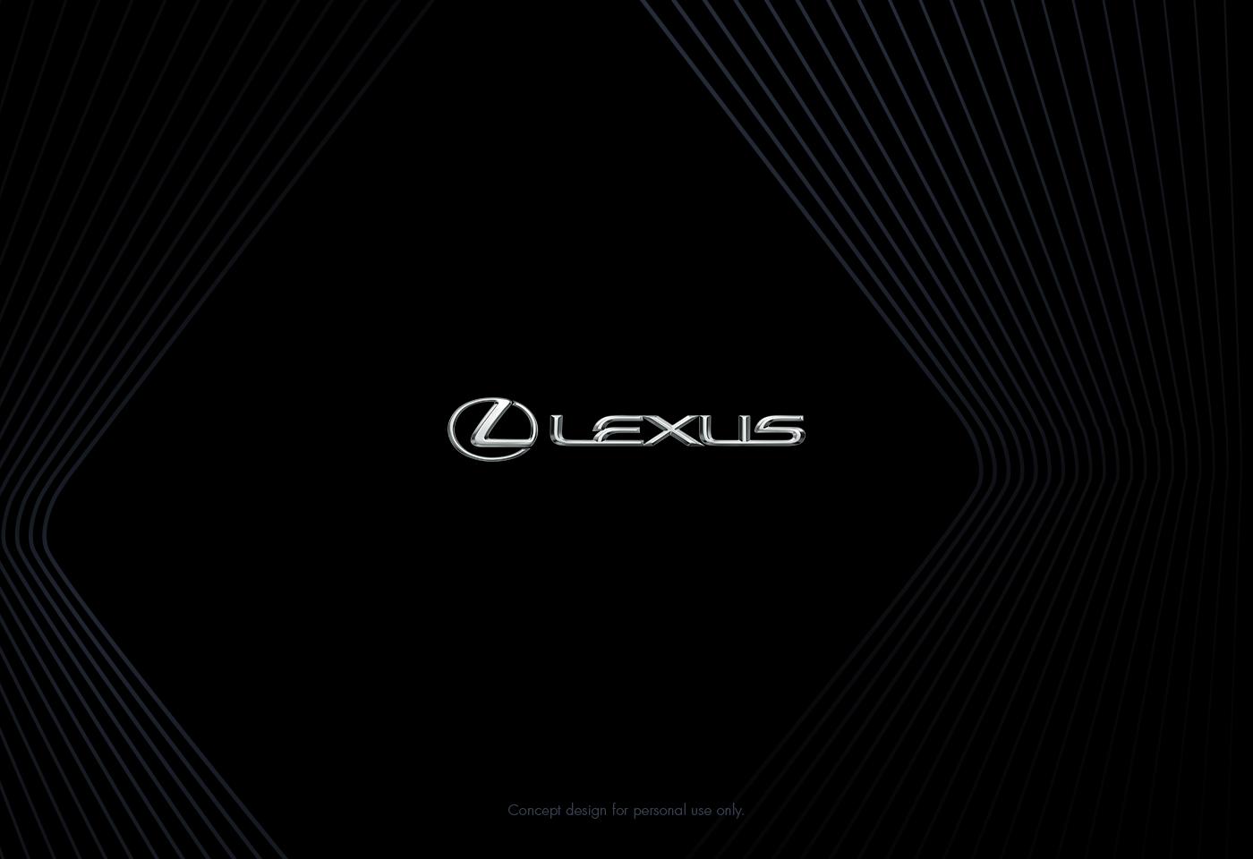 Junkyu Han:Lexus ES300H 汽车仪表盘UI概念设计