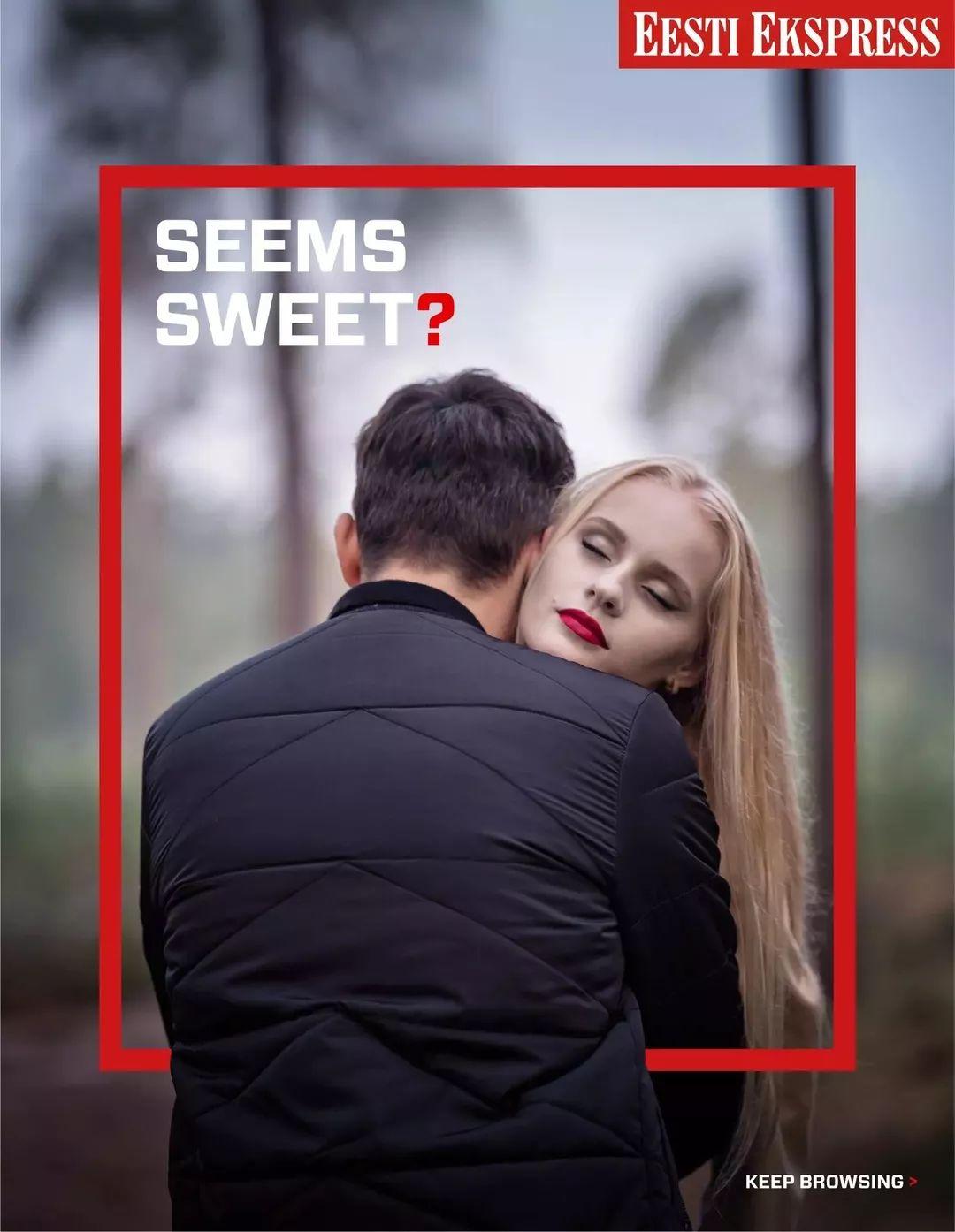真相也许不是你想的那样!调查类报纸Eesti Ekspress平面广告
