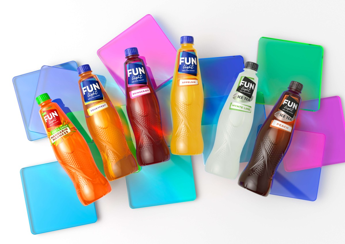 FUN Light饮料包装设计