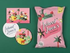 Island Jack创意薯片包装设计