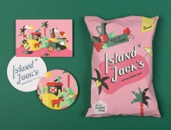 Island Jack创意薯片包装澳门金沙真人