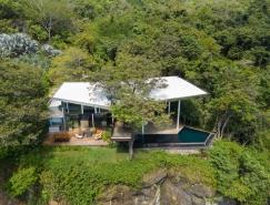 哥斯達黎加懸崖邊的Cocobolo別墅