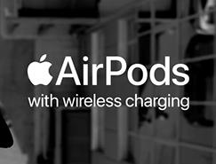 充滿彈性的AirPods廣告