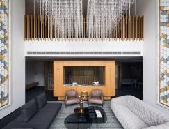 簡約的奢華優雅,融入現代東方元素的時尚別墅設計