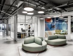 以色列Akamai办公室空间设计